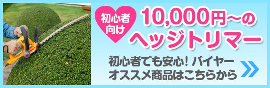 10000円から買えるお安いヘッジトリマー